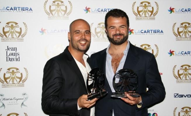 Marco D'Amore e Edoardo De Angelis