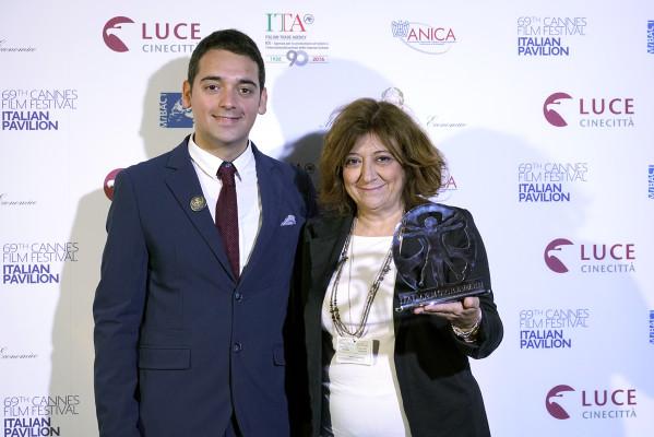 Cannes_Carlo_Fumo_Luca_Abete_Laura_Delli_Colli_Italian_Pavilion